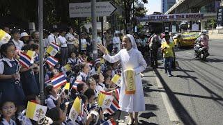 Lễ nghi đón tiếp chính thức Đức Thánh Cha tại Toà Nhà Chính Phủ