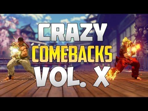SFV S2 ▰ Unbelievable / Epic Street Fighter V Comebacks Volume 10