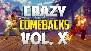 SFV S2 ▰ Unbelievable / Epic Street Fighter V Comebacks Volume 10