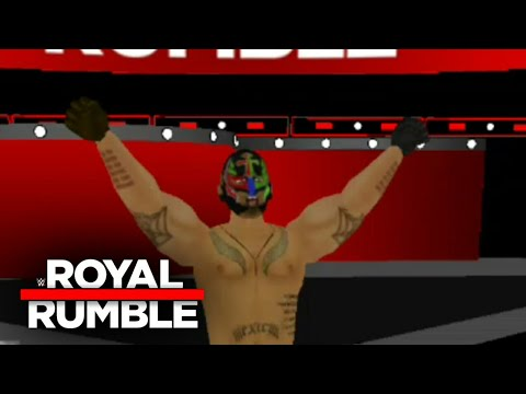 REY MYSTERIO RETURN AT THE ROYAL RUMBLE 2018 WR3D