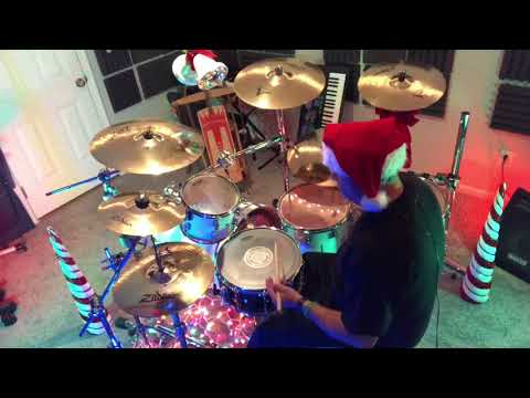 Christmas Series Jingle Bells Brian Setzer Orchestra Drum Cover