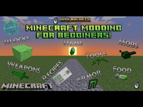 Minecraft Modding Beginners: Tutorial 3 - Part 1 - Creative Ts!