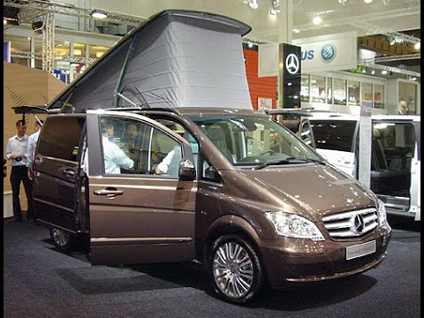 mercedes benz viano marco polo campervan youtube. Black Bedroom Furniture Sets. Home Design Ideas