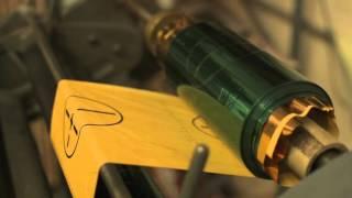Hot Foil Stamping Green Foil