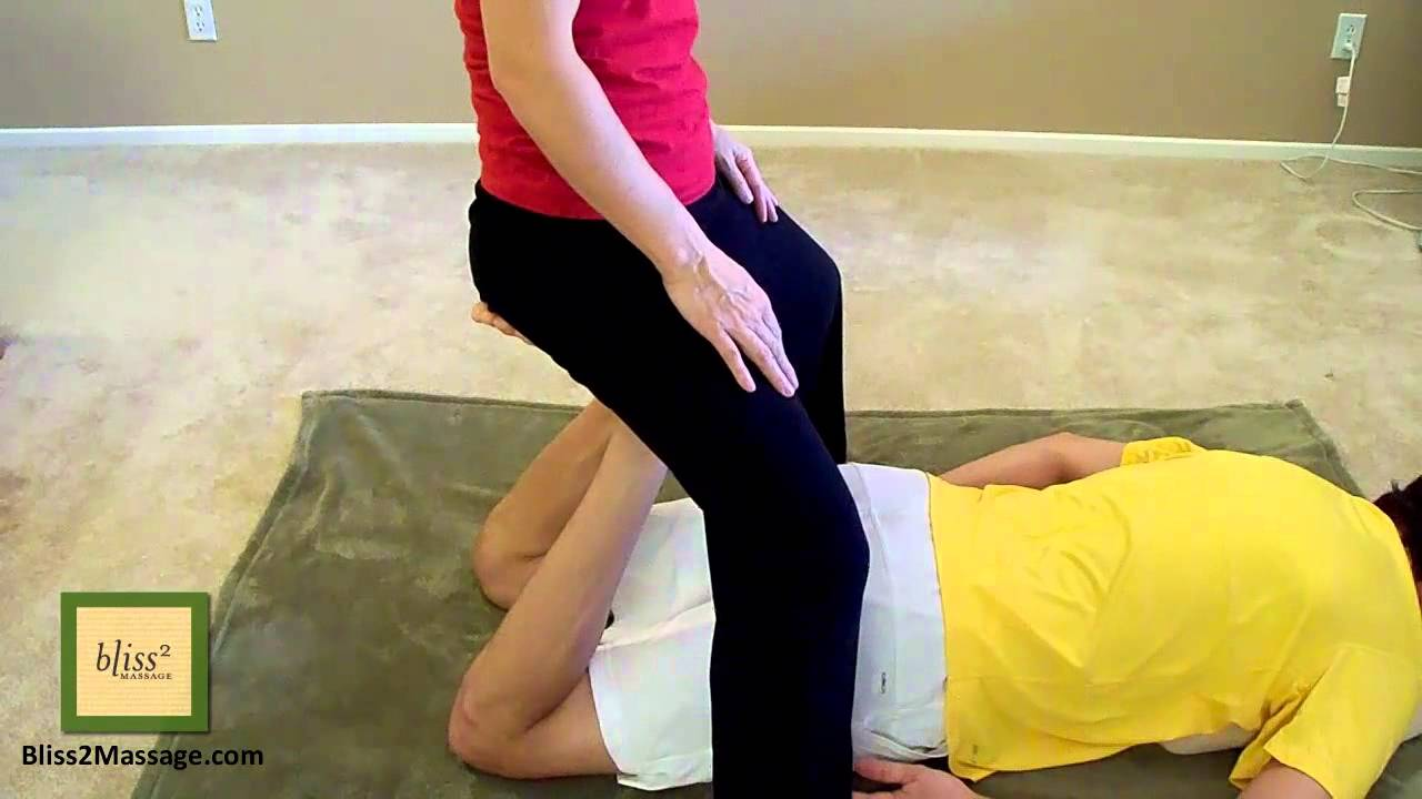 Bear Walk With Human Chair - Massage Monday #128 - YouTube