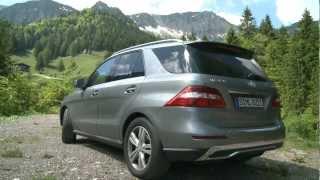 видео Mercedes-Benz ML350