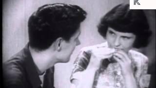 1950s American Teenagers, Awkward Date Converstation