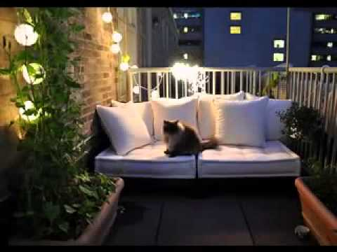 Small Balcony Garden Ideas I Kleiner Balkon Garten Ideen Youtube