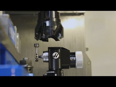 Operating the Haas CNC Mill Renishaw Wireless Probing System - Clark Magnet High School SSP