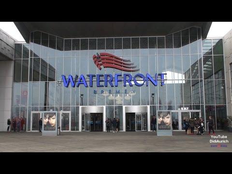 Ein Rundgang durch die Waterfront Bremen Einkaufszentrum Entertainment Centers
