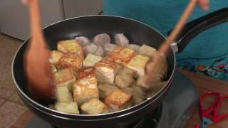 素菜班-迷你素盆菜 Mini Veg Casserole (veg Cooking With Leia)