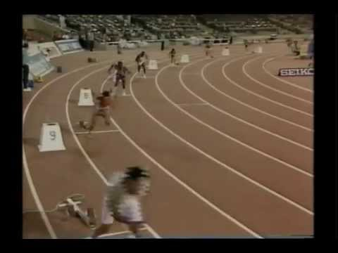 1989 World Cup Athletics Men's 4x100m final