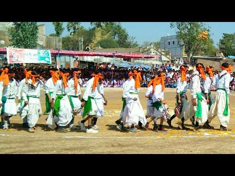 New Style Adivasi Timli Dance Video by School Students Chhaktala Alirajpur MP 2018