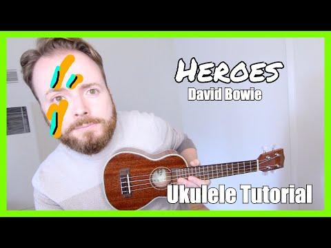 HEROES - DAVID BOWIE (Easy Ukulele Tutorial)
