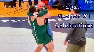 2020 Section XI Wrestling Celebrations