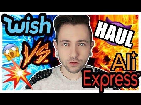 WISH vs ALIEXPRESS  - welcher ONLINESHOP ist besser? 😱❤️ TRY ON HAUL 🤩😈 Max Amphetamine
