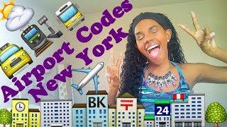 Airport Codes - New York (NY) | Ashley Skyflier