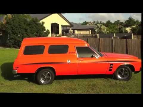 Holden Sandman Panelvan Youtube