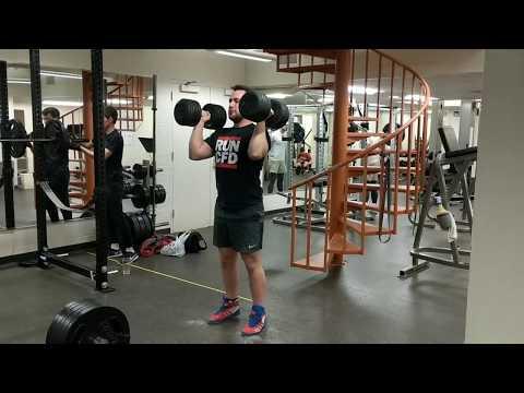 Sig Klein DB Clean and Press Challenge - Attempt #1