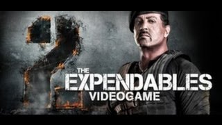The Expendables 2 Videogame Gameplay (PC/HD)