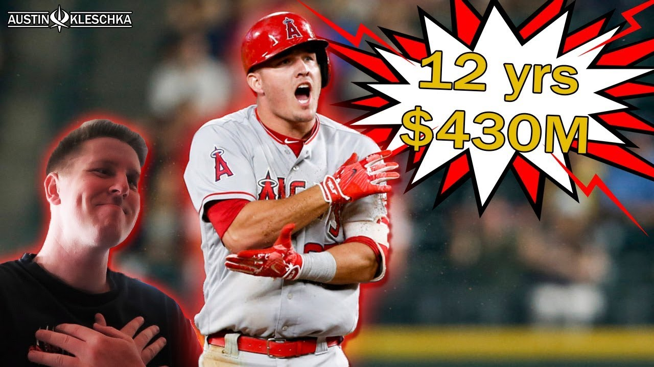 Mike Trout Signs A Record-Breaking Extension With The Angels