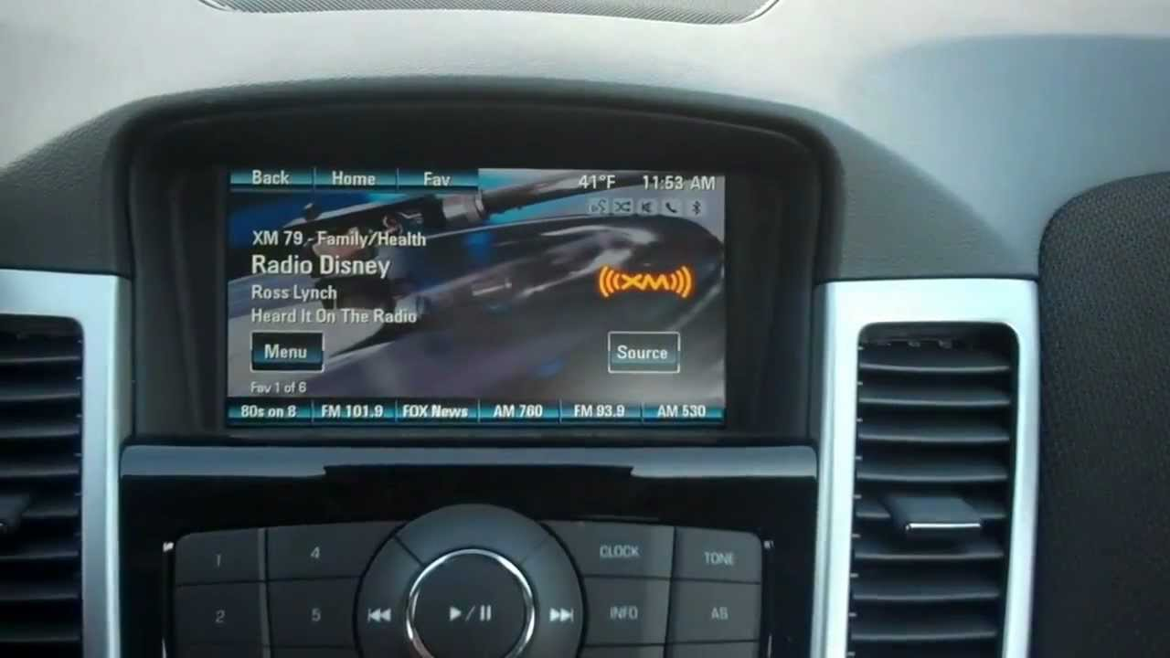 My Link Chevrolet >> MyLink Radio on the 2013 Chevy Cruze Chevy Dealer Indiana | Team Chevrolet - YouTube