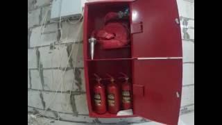 Монтаж пожарного трубопровода(Монтаж пожарного трубопровода с установкой пожарных шкафов., 2016-06-21T18:53:31.000Z)
