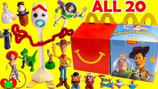 Toy Story 4 McDonald's Happy Meal Toys Full Set 20