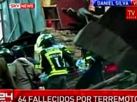 Massive Earthquake Shakes Southern Chile