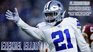 Ezekiel Elliott ft. Marshmello and Kane Brown One Thing Right Career Highlights