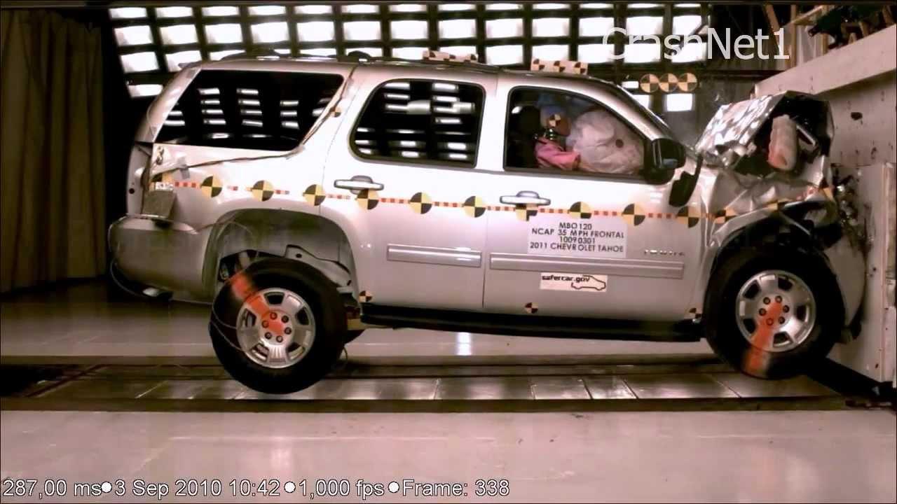 Chevrolet Tahoe 2013 Frontal Crash Test Nhtsa High