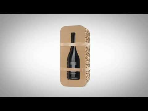 European Packaging for Crusoe Treasure underwater wine