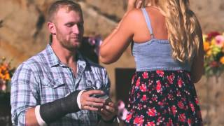 NFL Player Marriage Proposal Video - Private Beach Country Concert