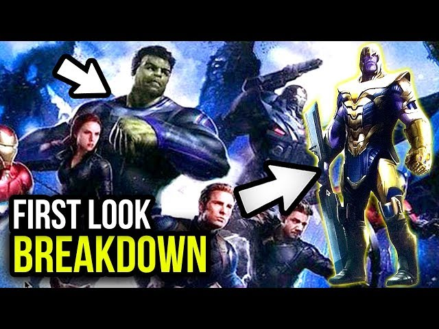 Avengers 4 Concept Art LEAKED! First look at Captain Marvel, Hulk's SUIT & Much More!