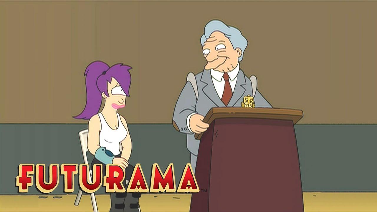 Download FUTURAMA   Season 4, Episode 5: Leela's Induction   SYFY