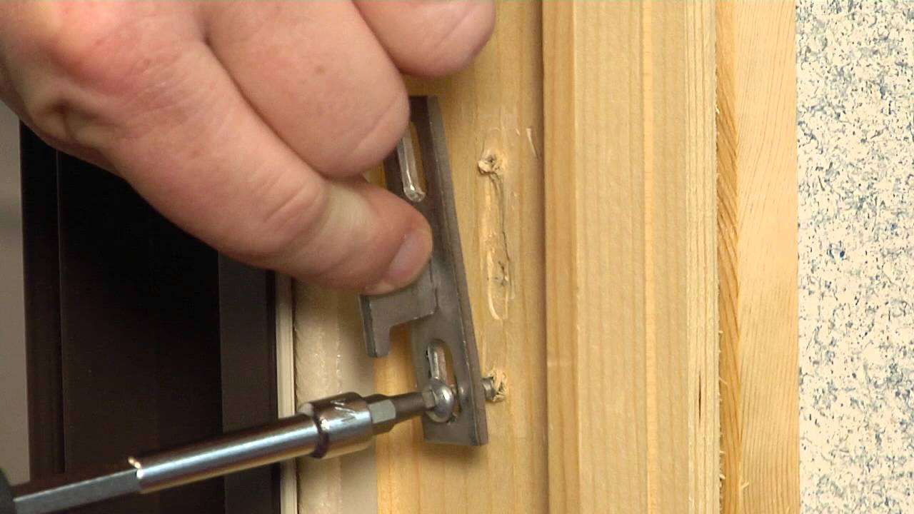 How To Replace The Keeper On A Premium Wood Sliding Patio Door Youtube