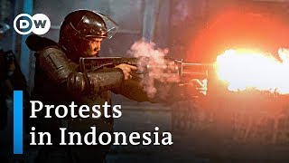 Six dead after Indonesia post-election protests | DW News