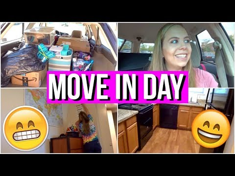Moving into My College Apartment!