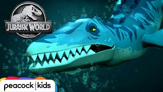 Underwater Monster Rescue | LEGO JURASSIC WORLD: LEGEND OF ISLA NUBLAR