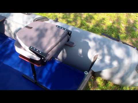кресло в лодку с вариантами  от опрокидывания