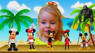MICKEY MOUSE Finger Family Song - Nursery Rhymes for Childrens I Canciones infantiles para niños