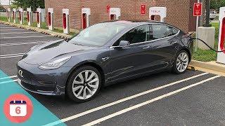 Tesla Model 3 Road Trip Experience