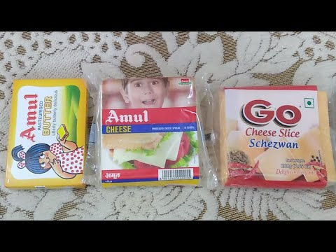 Amul Processed Cheese Spread : Nutritional Value and Review (Hindi) (Live Video)