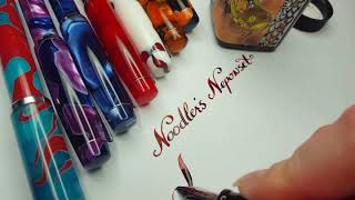 Modified Noodlers Neponset fountain pen with Extreme Flex