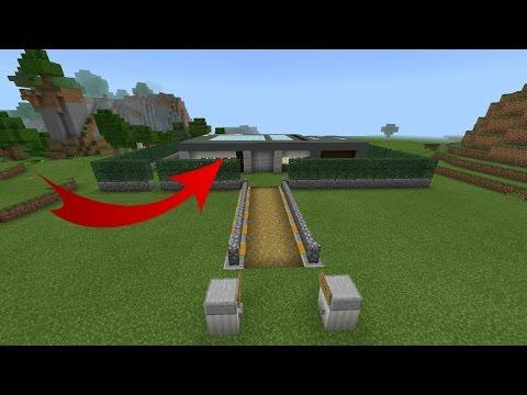 видео: ДОМ ЗА 5 СЕКУНД в Minecraft PE! Механизм