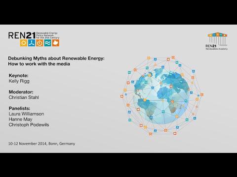 REN21 Renewables Academy 2014  Debunking Myths about Renewables