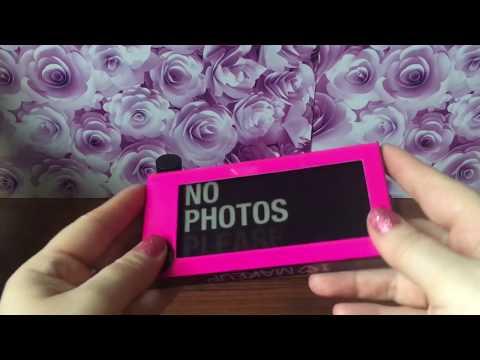Заказ декоративной косметики с Revolutionbeauty.com, 1 часть