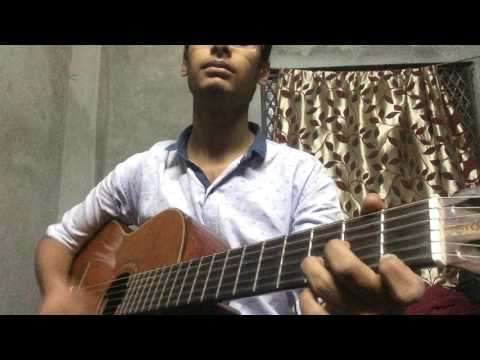 jal band aadat open chords version easy without capo