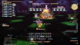 FFXIV: ARR - Crystal Tower Bone Dragon Boss Battle