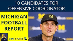10 Potential Candidates Jim Harbaugh Could Hire To Become Michigan's Offensive Coordinator in 2019